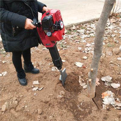 乐丰牌便携式挖树机厂家直销 园林挖树机