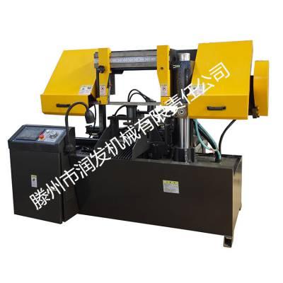 全自动数控带锯床 GS4230数控金属带锯床 30数控锯床