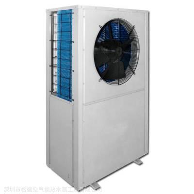 岳阳市工厂单位理发店美的5P空气能热水系统