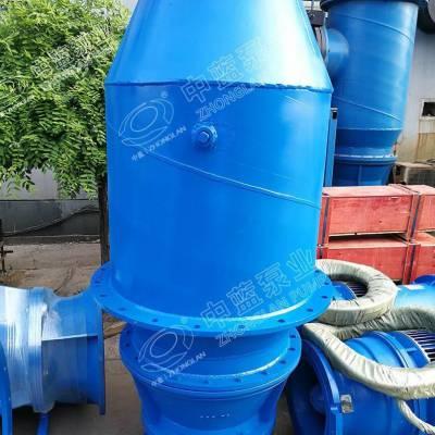 专业制造潜水轴流泵厂家 潜水轴流泵预埋件和土建设计厂家