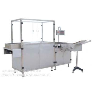绞笼式超声波洗瓶机-易佰联JCXP-6绞龙式超声波洗瓶机