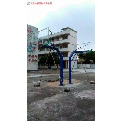 湖南篮球架批发 长沙体育器材生产厂家 电动液压篮球架加工厂户外体育器材厂