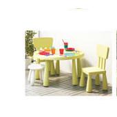 优质原木多色家具儿童桌婴儿椅