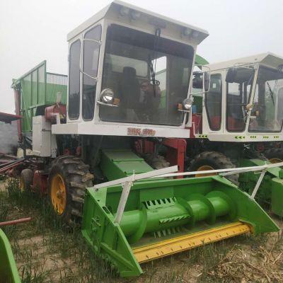 青储机 大型玉米秸秆青贮饲料机 皇竹草粉碎收获机 地滚刀式青贮机
