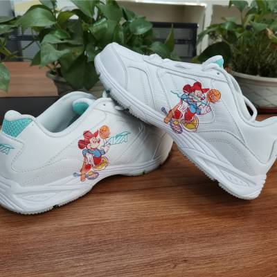 理光G6高落差成品鞋子3D数码UV印花机 鞋子logo打印机厂家