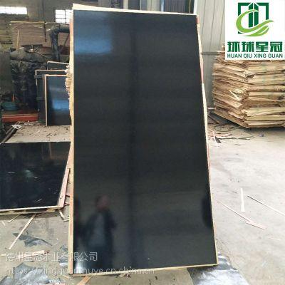 江苏建筑工程黑模板杨木多层板量大从优星冠木业