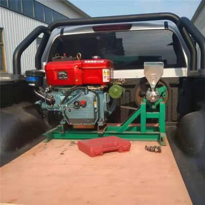 玉米空心棒生产价格 大米糁脆膨化机 单缸汽油机膨化机价格