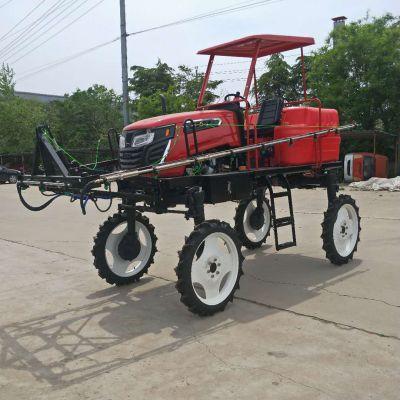 自走式喷药机 四轮植保喷药机配件批发山东原产地发货