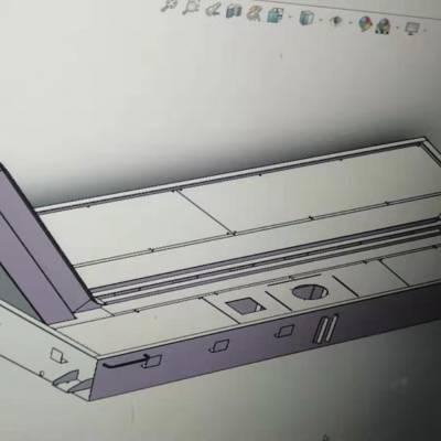 定做各种排屑链板输送线 定制加工不锈钢爬坡带挡板 链板式排屑机