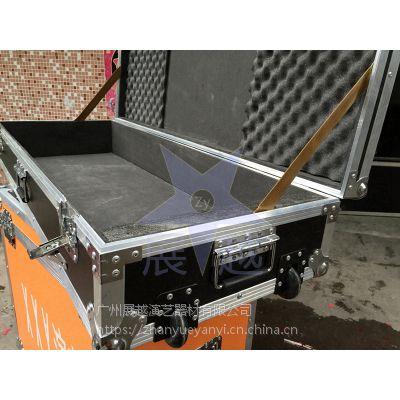 音响航空箱定做 电子琴航空箱定定制 供应铝合金箱 航空运输箱 展越铝箱