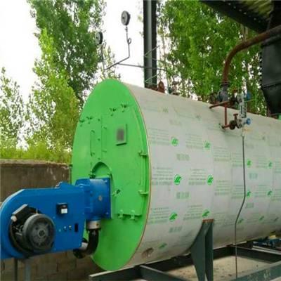 甘肃张掖立式燃气热水锅炉免费咨询 利雅路锅炉 节能环保价格低