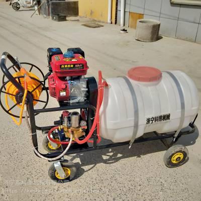 科圣 菜地灭虫打药机械 手拉汽油柴油打药车 小型自走式大棚打药机