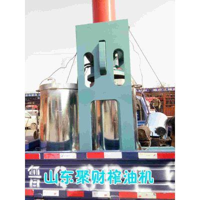 大型液压榨油机 液压式榨油设备多少钱一台 花生胡麻螺旋榨油机多钱