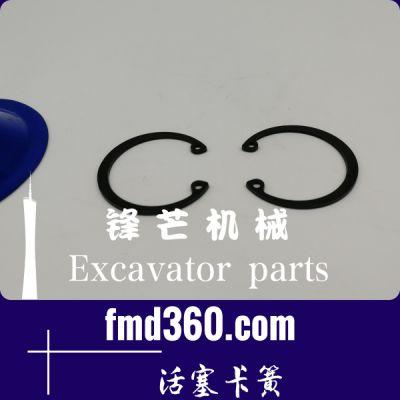 邓州市进口挖机配件五十铃6BG1发动机活塞卡簧锋芒机械