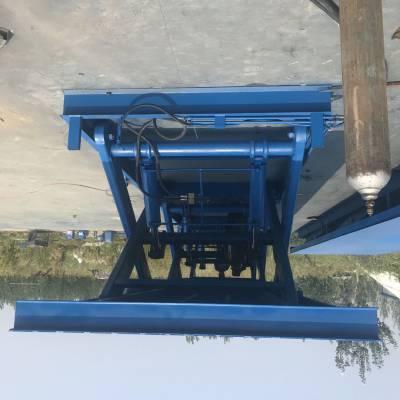AG亚游集团定制30噸剪叉式升降貨梯 固定式升降機 大臺面升降平臺 電動液壓升降