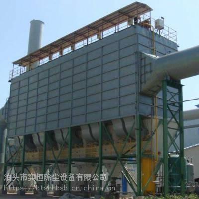 河北岩棉炉高温布袋除尘器厂家实恒烟气脉冲袋式除尘器