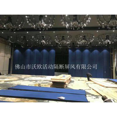 广东折叠式活动隔断屏风厂家,移动隔墙门定制,专业品质,各地上门安装