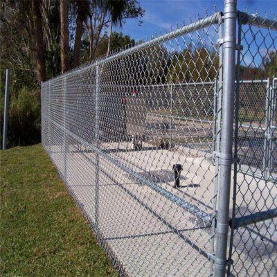 包塑勾花网兴来 围栏网片价格 绿色勾花网护栏价格