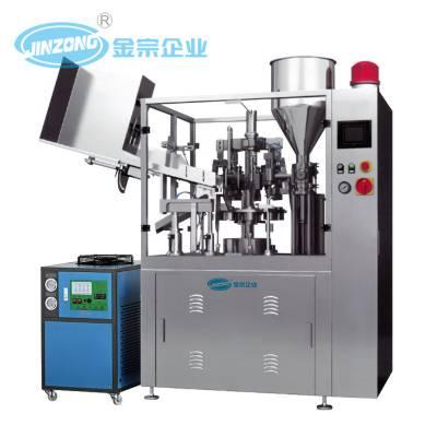 广东金宗 全自动软管灌装机 封尾机 PLC控制