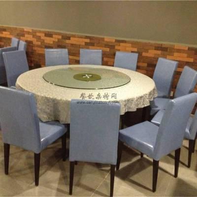 酒楼茶馆圆桌椅子组合,时尚餐馆家具定制案例