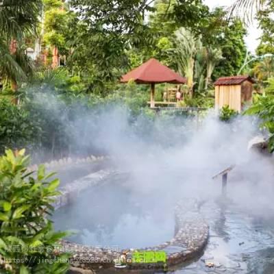 景观造雾施工团队 景观造雾设备供应 喷雾造景报价 西安锦胜雾森