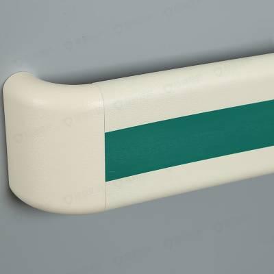 医院内扶手批发 PVC老年公寓走廊墙壁专用铝合金医院防撞扶手程益防护