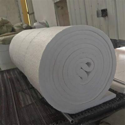 硅酸铝纤维毯幕墙防火硅酸铝毡4cm