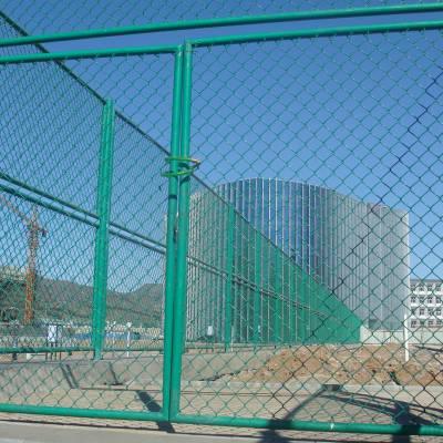 动物园隔离网 学校围栏网 绿色编织铁丝网