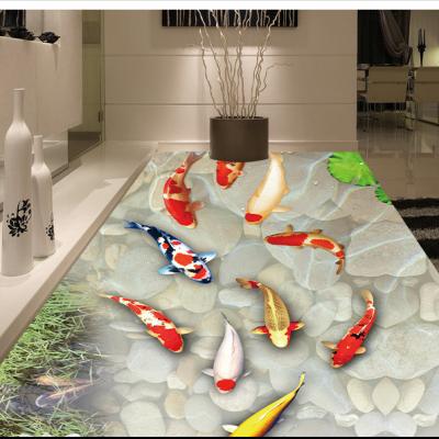海洋海景高温烧制3D地砖定制购买
