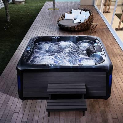 江苏南京卫浴新款2150x2150x900mm按摩浴缸泡池浴缸 家用按摩池按摩SPA大池冲浪缸亚克力