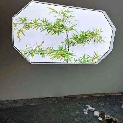 海城软膜天花,灯光膜,卡布灯箱,洗浴中心吊顶,透光膜
