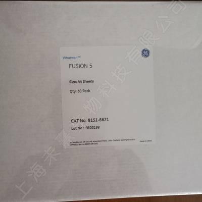 GE Whatman沃特曼fusion胶体金滤纸A4大小8151-6621