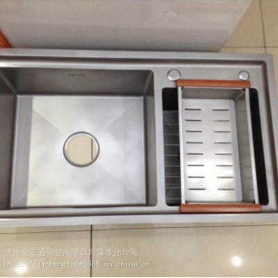 新金宏通不锈钢水池 单沥水池、双沥水池,异形定制,201,304批发销售,用户满意是服务目标