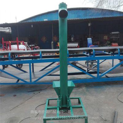 浙江丽面粉厂用螺旋上料机稻谷颗粒管式螺旋提升机