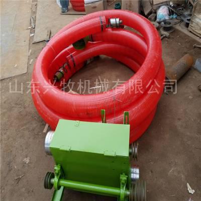 三寸管径粮食吸粮机 现货热卖抽粮机 软管抽沙吸粮机