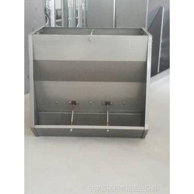 喂猪饲料槽猪舍用不锈钢料槽不锈钢自由采食槽适用于粉料和颗粒料