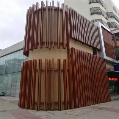 展馆弧形铝方通安装工艺