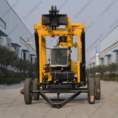 供应久钻自走式打井液压水井钻机XYX-3拖车式地质岩芯钻机