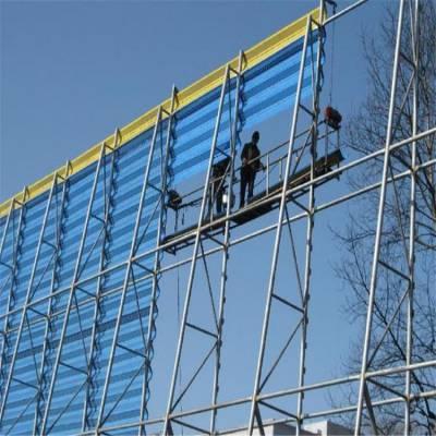 金属柔性防风抑尘网 双面喷涂防风抑尘网可定制