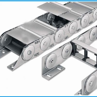 厂家直销 钢铝拖链 全封闭拖链 坦克链 桥式及全封闭