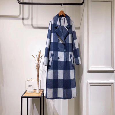 杭州四季青服装市场 双面羊绒大衣品牌折扣女装尾货 白马十三行服装批发市场
