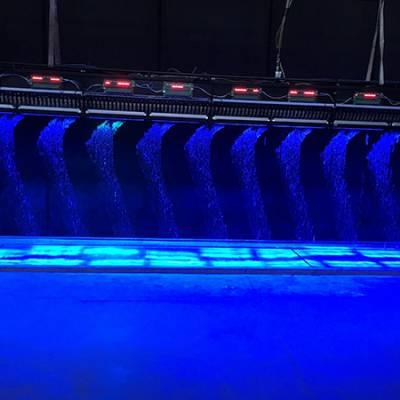 芬乐自有工厂-数字水帘设备-水帘