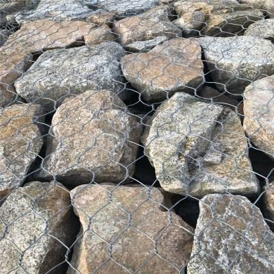 加工 铅丝河道包石头网 格宾石笼