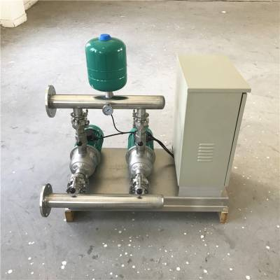 江苏泵房改造项目WILO节能恒压变频增压泵