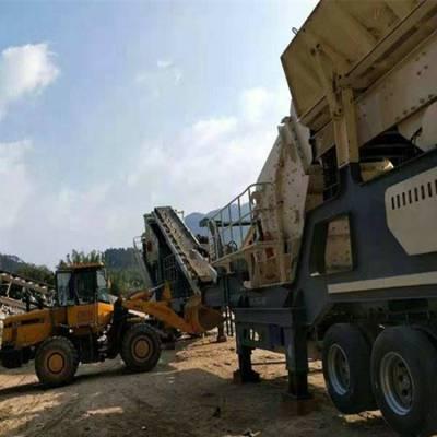 砂石破碎机设备生产线 移动碎石机设备厂家 土方矿山破碎机