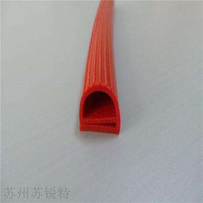 耐高温环保E型硅胶密封条
