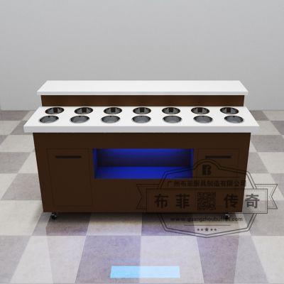 自助火锅调料台 可定制自助餐调料台 烧烤餐厅商用酱料台一件代发