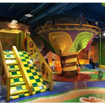北京儿童乐园彩虹攀爬网,钻洞攀爬网游乐场设备可加工定做