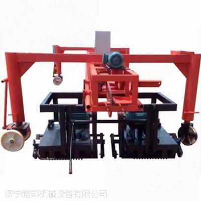 路邦机械路面防滑桁架刻纹机 大型双幅悬挂刻纹机