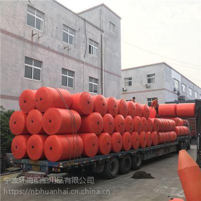 江面垃圾拦截设施漂浮式拦污浮筒生产厂家